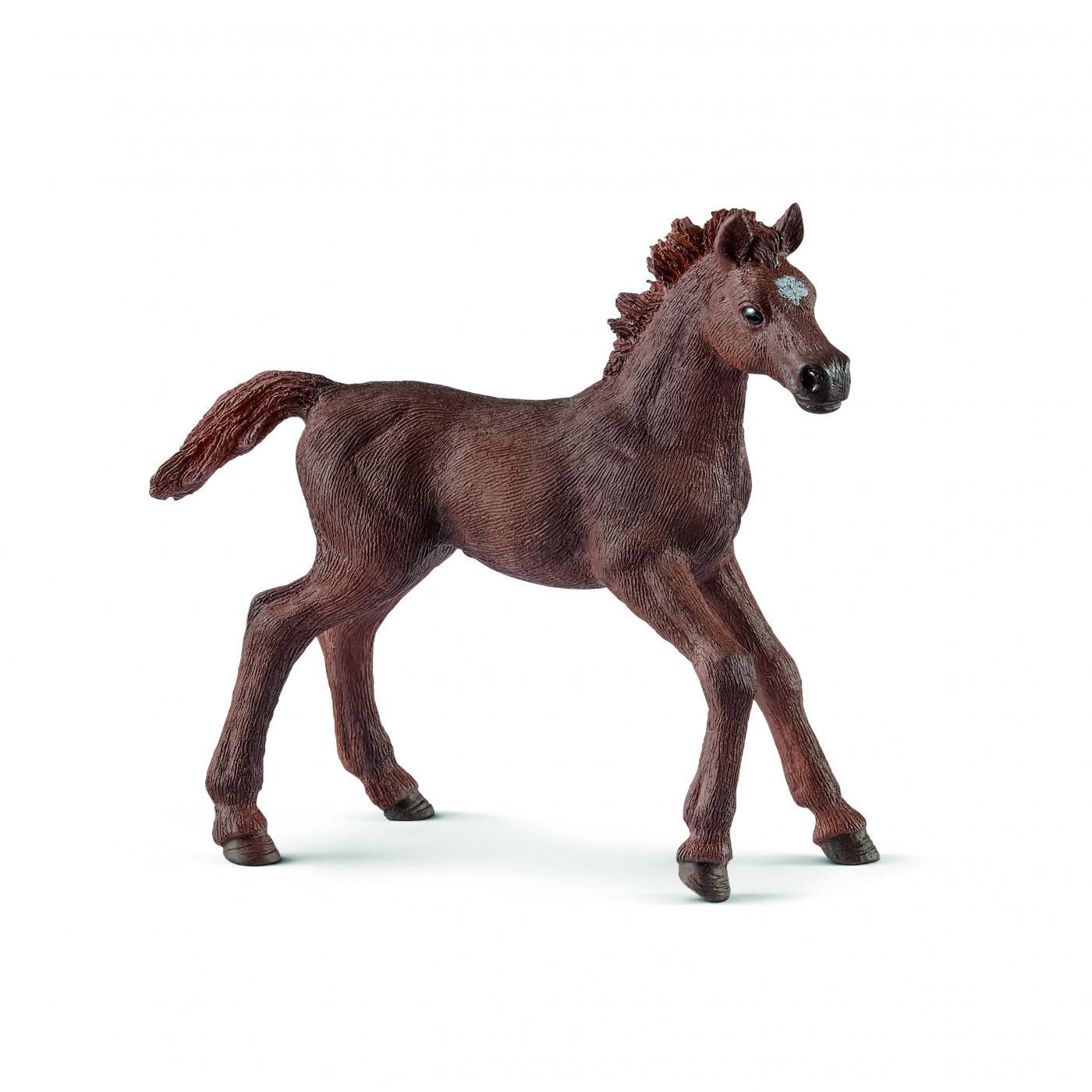 Schleich Horses: Schleich English Thoroughbred Foal 13857