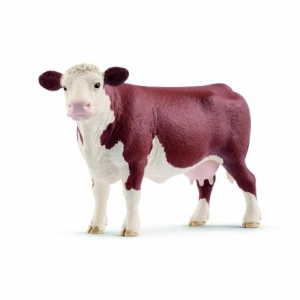 Collecta 88236 Hereford Calf Standing 7 Cm Wild Animals Toys & Hobbies Animals & Dinosaurs