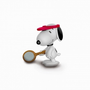 Neuheit 2018 Schleich® Peanuts 22075 Gewichtheber Snoopy