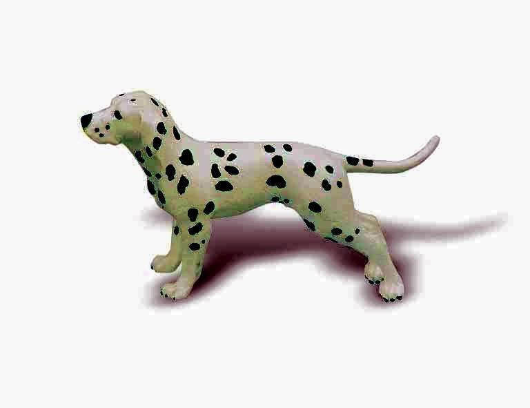 BULLYLAND 65386-DOGS-FIGURINE BINGO-NUOVO