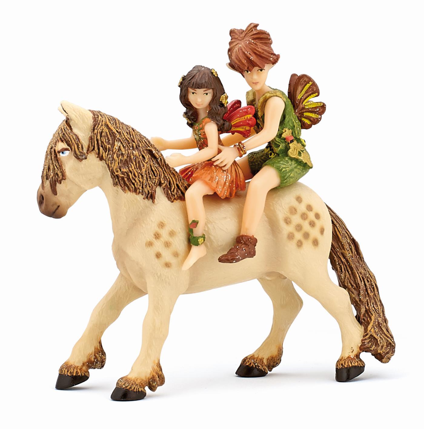 Papo elfenkinder mit pony drachen elfen bei