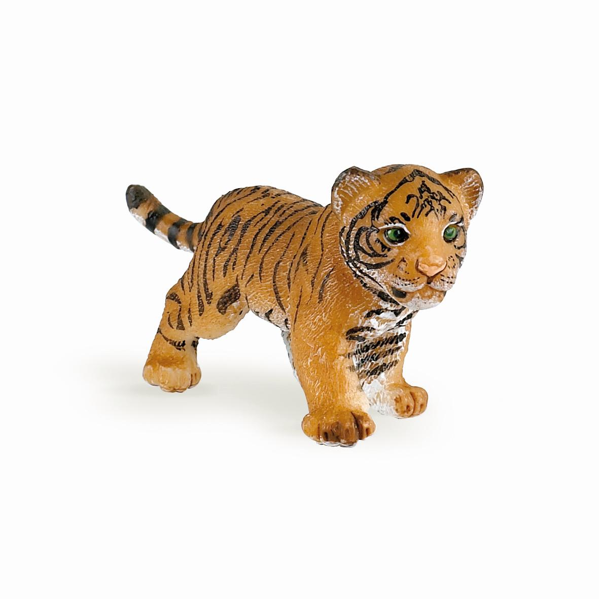 Wild Animal Kingdom Tigress with Cub figure Papo Model 50118