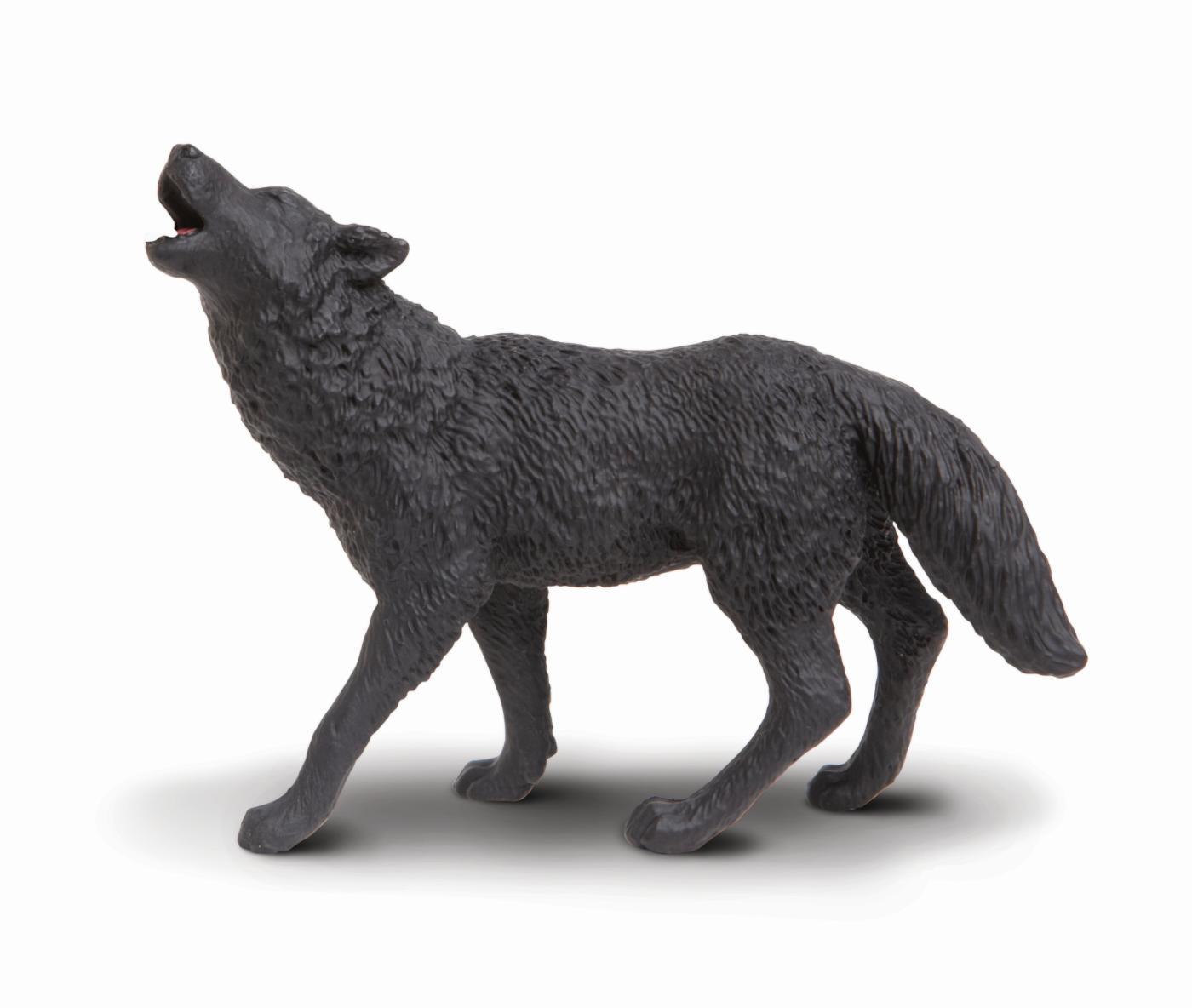 Wolf Family Toy : Safari ltd black wolf animal figures at spielzeug
