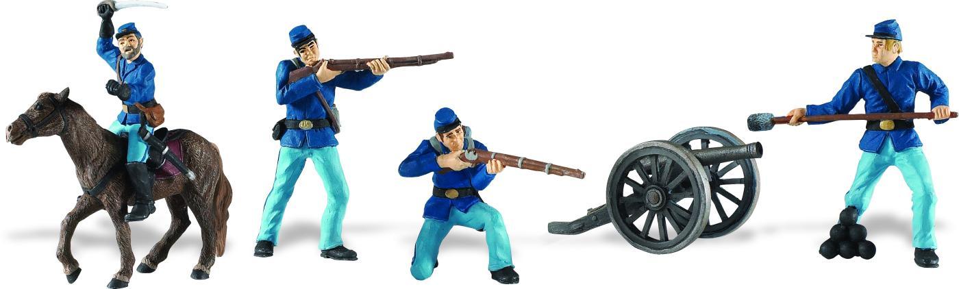 Safari Ltd Historical Collection Union Army Set NEW