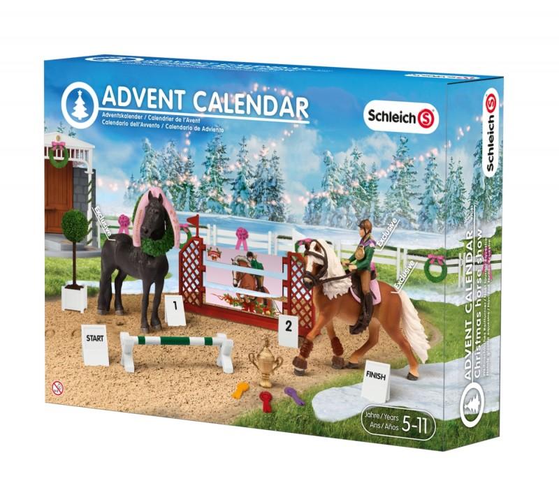 Schleich Schleich 97051   Advent Calendar Christmas Horse Show 97051