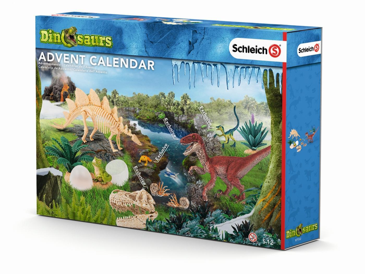 Schleich Weihnachtskalender.Schleich Advent Calendar Dinosaur 2016 97152