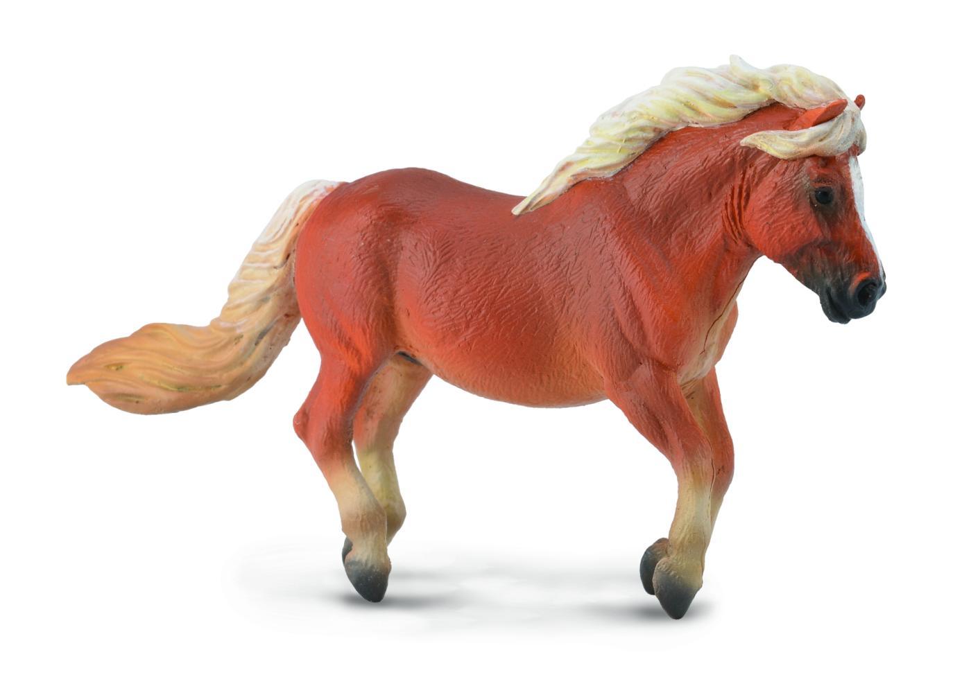 CollectA 88605 Shetland Pony Chestnut - animal figures at ... - photo#41