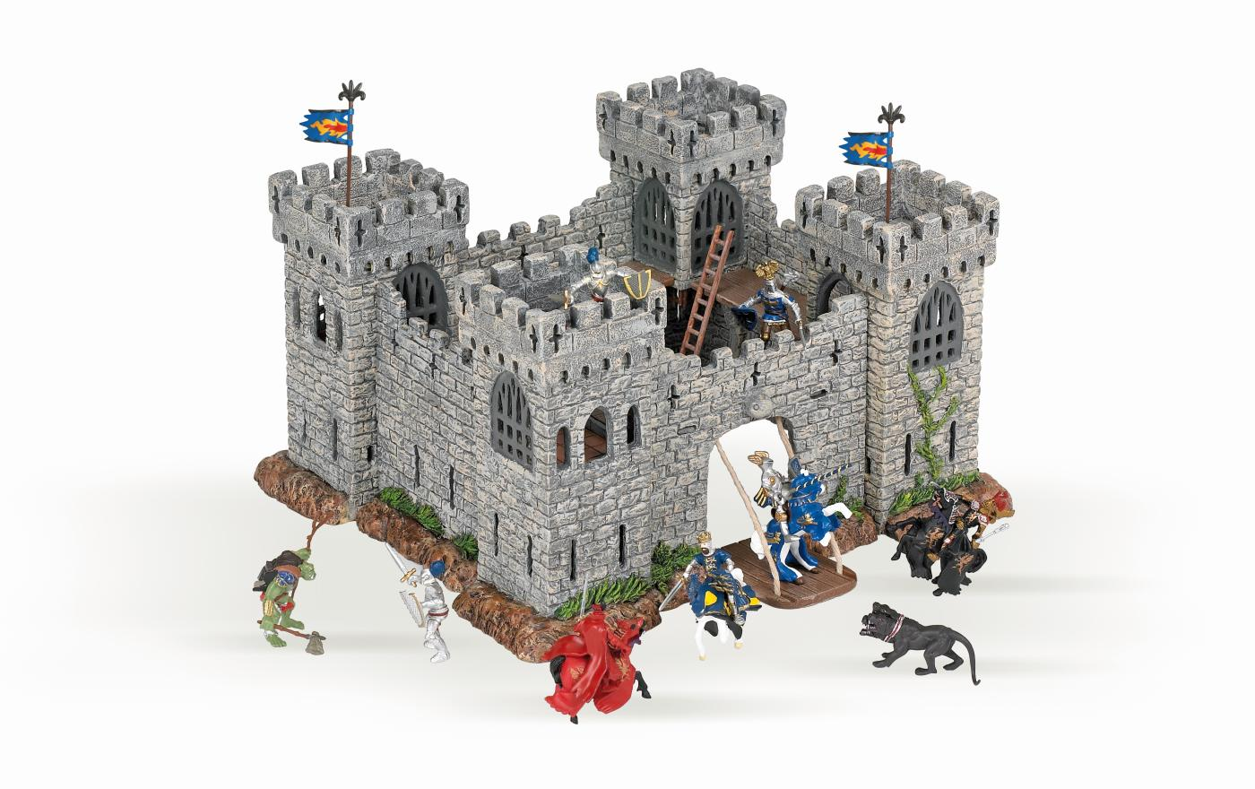 papo 33102 mini plastic castle tv902 minis at spielzeug. Black Bedroom Furniture Sets. Home Design Ideas