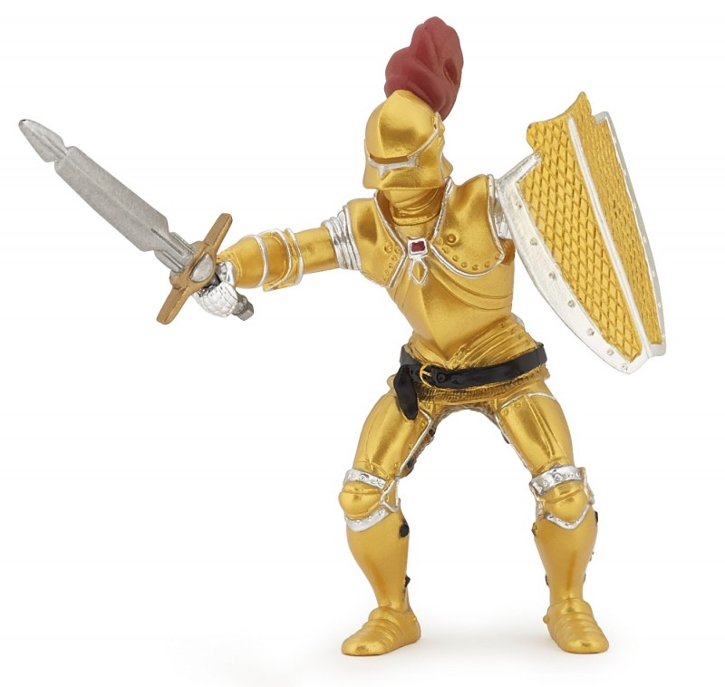 Golden Knight In Armor