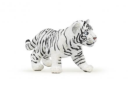 CollectA White Tiger Cub Walking Figure