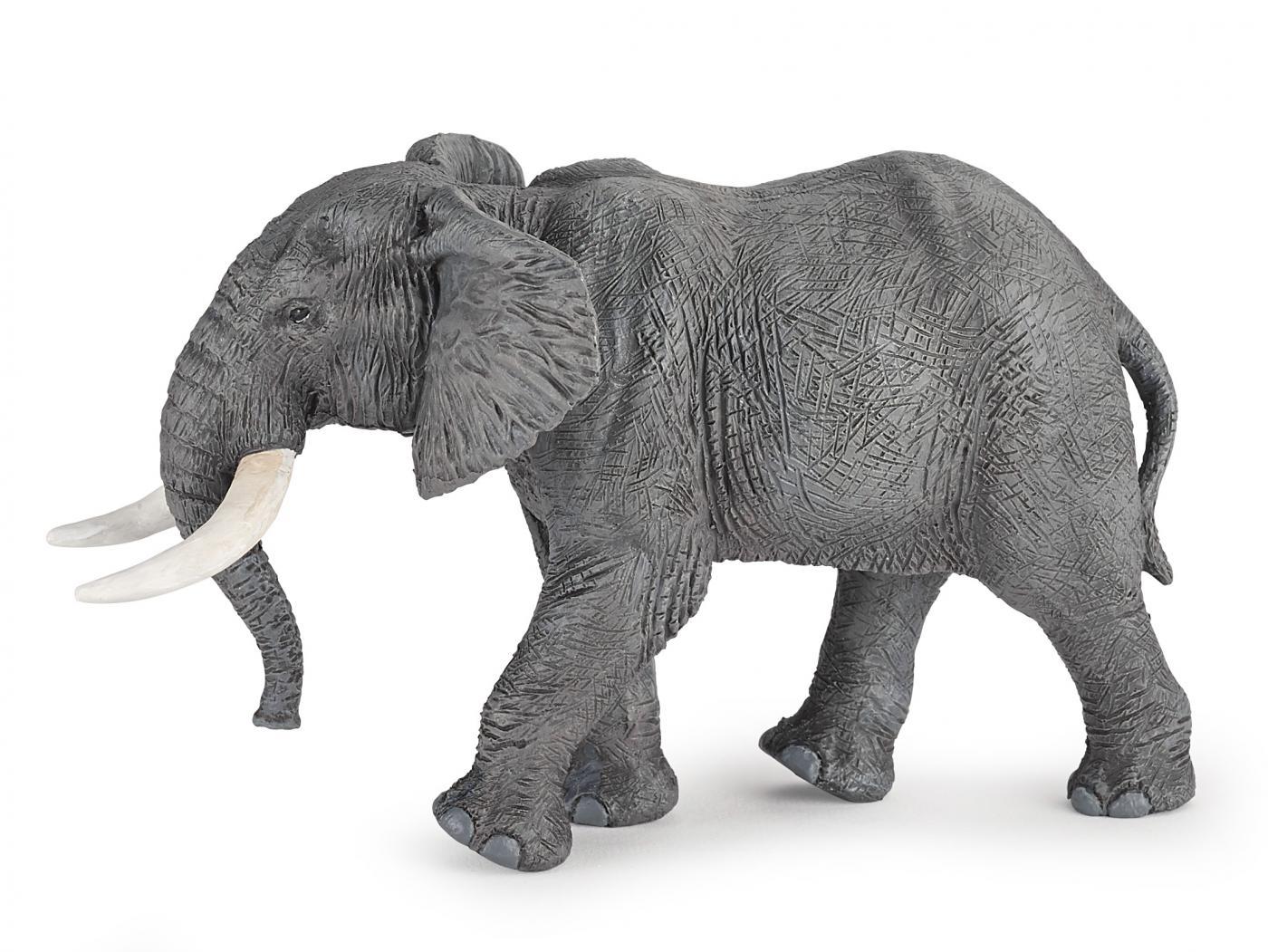 papo wild animal kingdom papo african elephant 50192. Black Bedroom Furniture Sets. Home Design Ideas