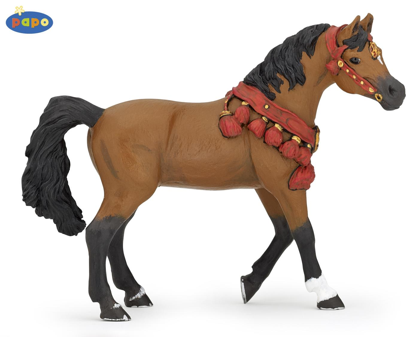 Toy Of Horses : Papo arabian horse in parade uniform spielzeug