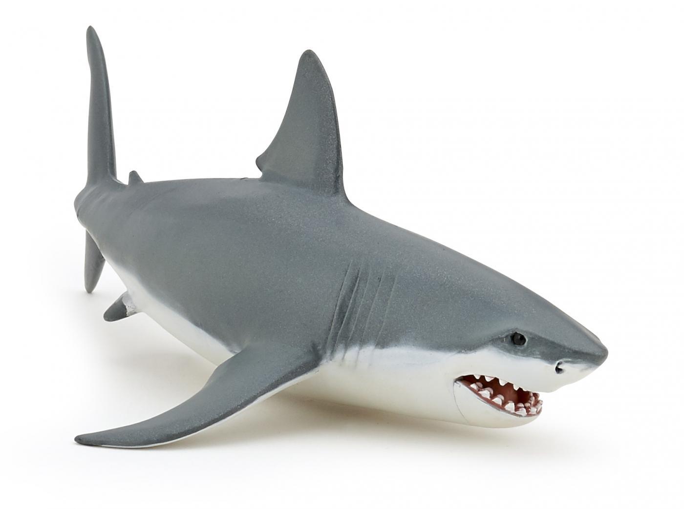 papo 56002 great white shark animal figures at spielzeug guenstig de