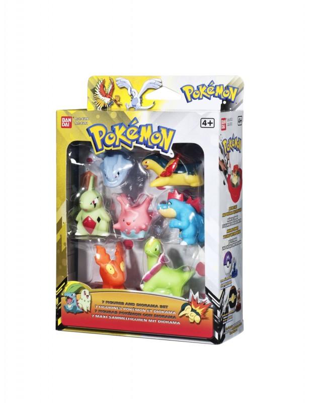 bandai pok85090 pokemon set 7 figures comic figures at. Black Bedroom Furniture Sets. Home Design Ideas